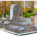 Pierre tombale en granit Himalaya SRE