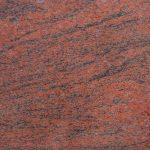 Granit red multi color